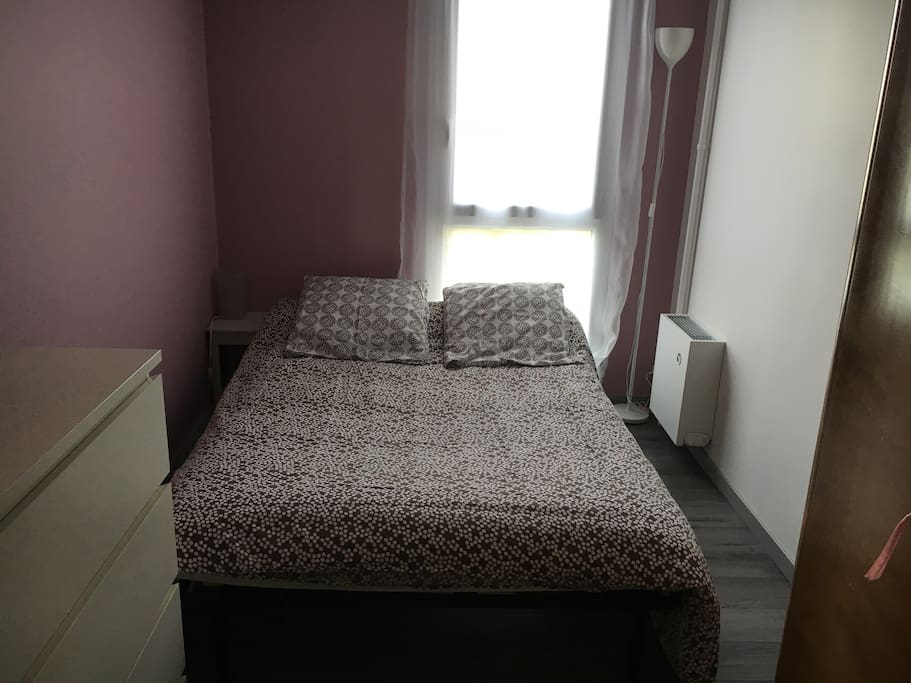 1ère Chambre (chambre d'amis) avec canapé lit