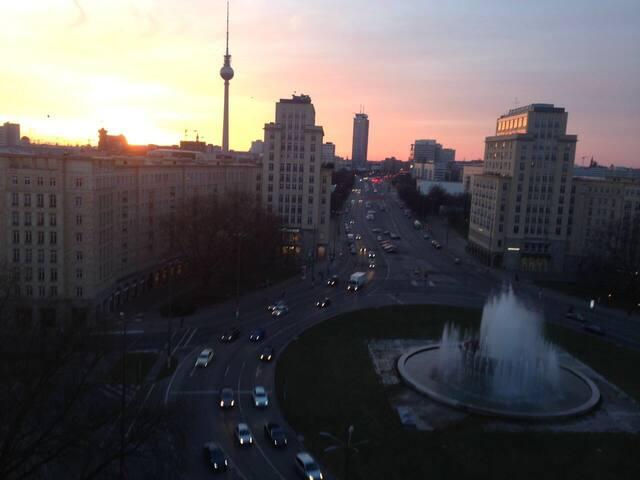 Unglaublicher Ausblick über Berlin - Berlin - Apartment