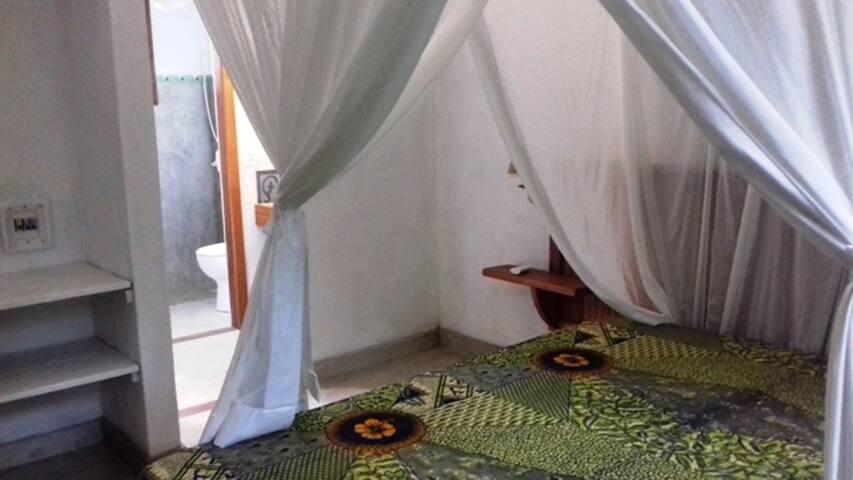 Vista quarto  / banho
