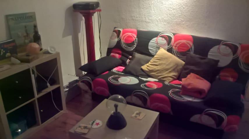 Chambre dans appartement de 80m² à Roanne centre - Roanne - Leilighet