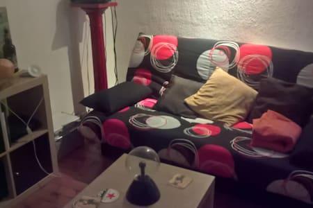 Chambre dans appartement de 80m² à Roanne centre - Roanne