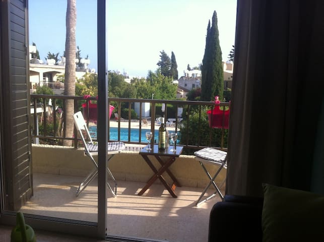 Apartment with pool 5 minutes from beach Paphos - Paphos - 公寓