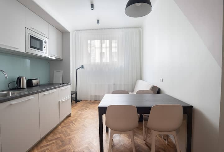 Stabu #3 ⭐️ Modern 1-bdrm. Centre. 2 bikes to rent