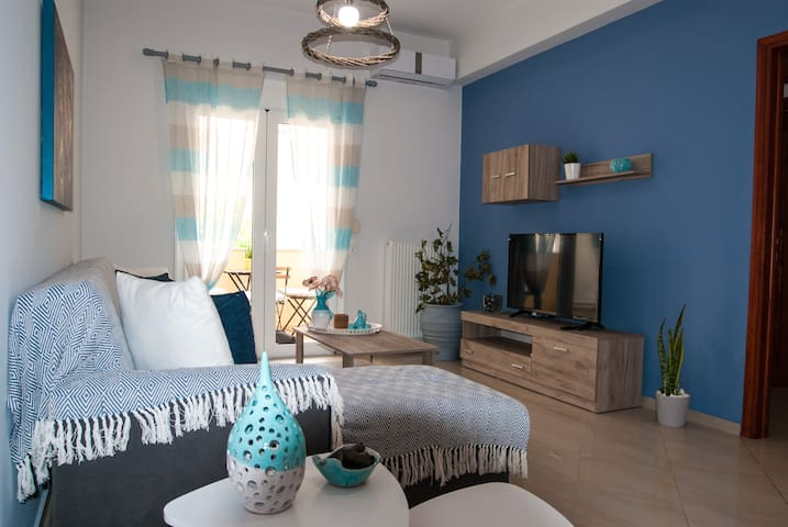 Ioanna's Cozy Apartment for 5Guests,Spili,Rethymno