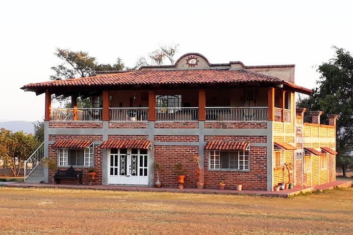 Casa de campo cerca de Guadalajara.