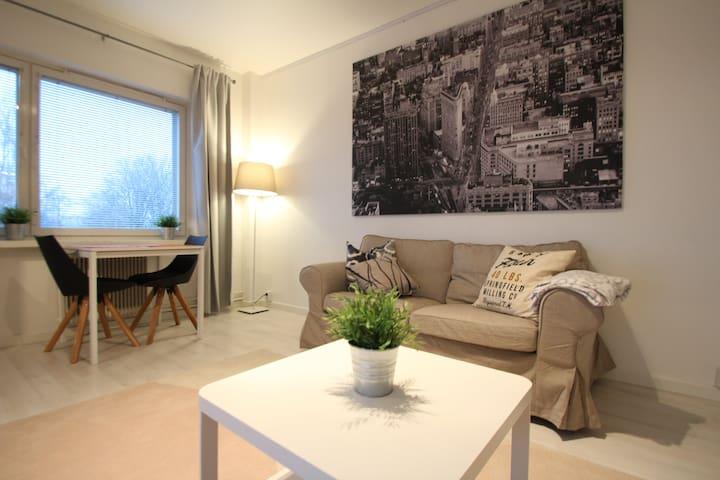 Cozy one-bedroom apartment in Alppila, Helsinki