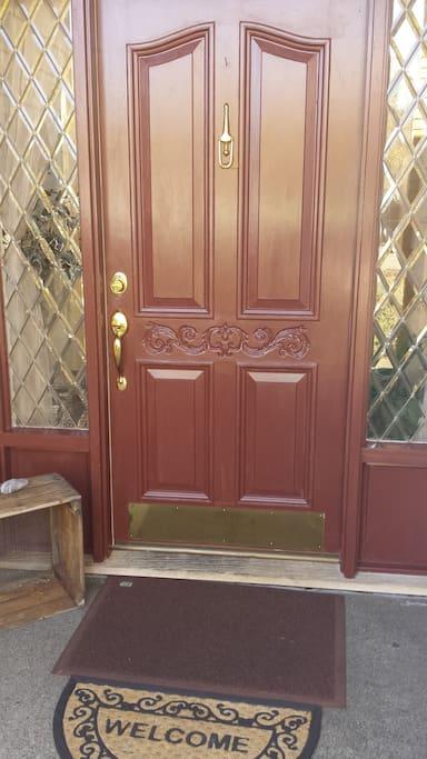 Guest Entrance Door