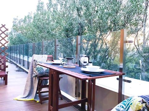 Premium apartments with panoramic terrace