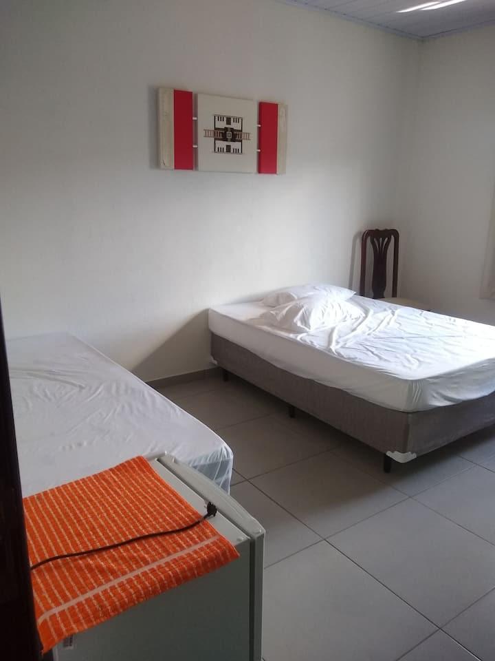 Pousada, quartos individuais, para feriados.