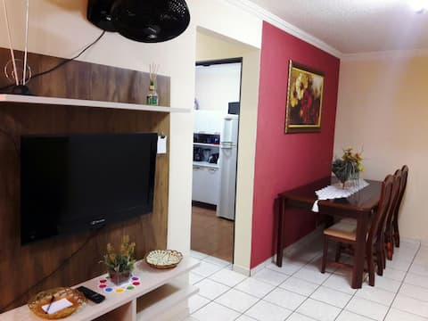 Apartamento completo, privativo, ótima localização