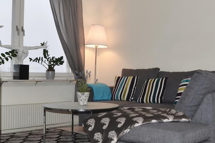 Room in apartment with sea view..