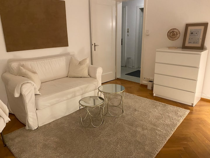 Chic & spacious 2-room apartment in hip district 4
