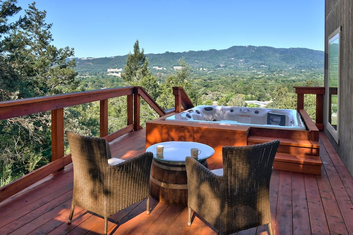 Sonoma Valley Terrace- Great Views!! Private Spa!!