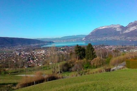 Maison des Chevreuils-Lac d'Annecy - Saint-Jorioz - Apartemen