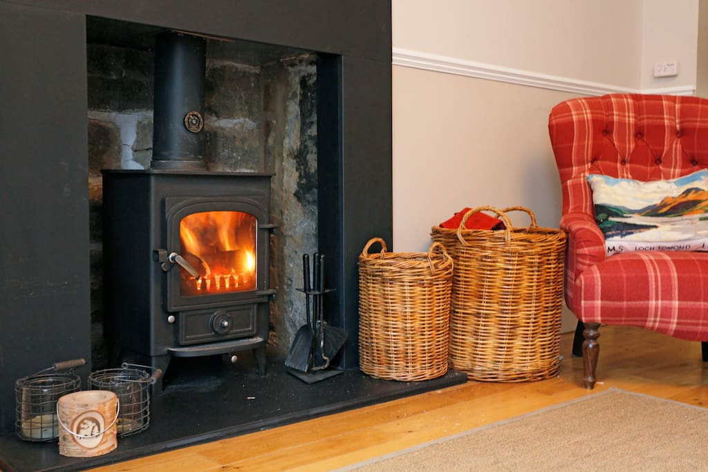 Spend cosy nights by the real fire