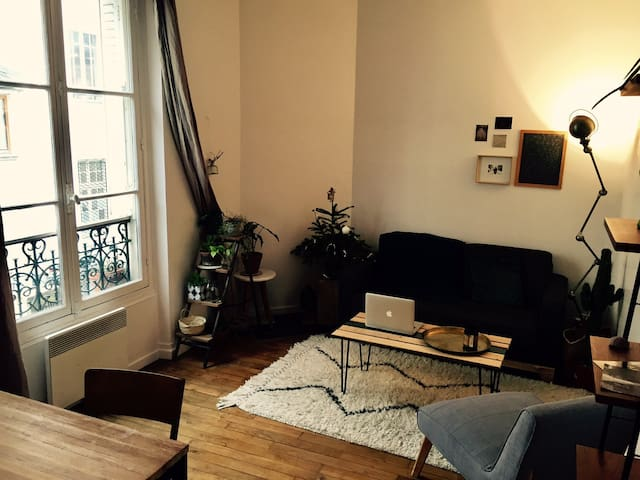 Appartement cosy - Quartier Saint-Bernard 11ème