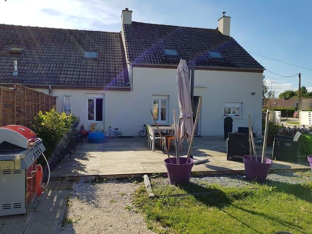Charmante maison familiale ARC-SUR-TILLE