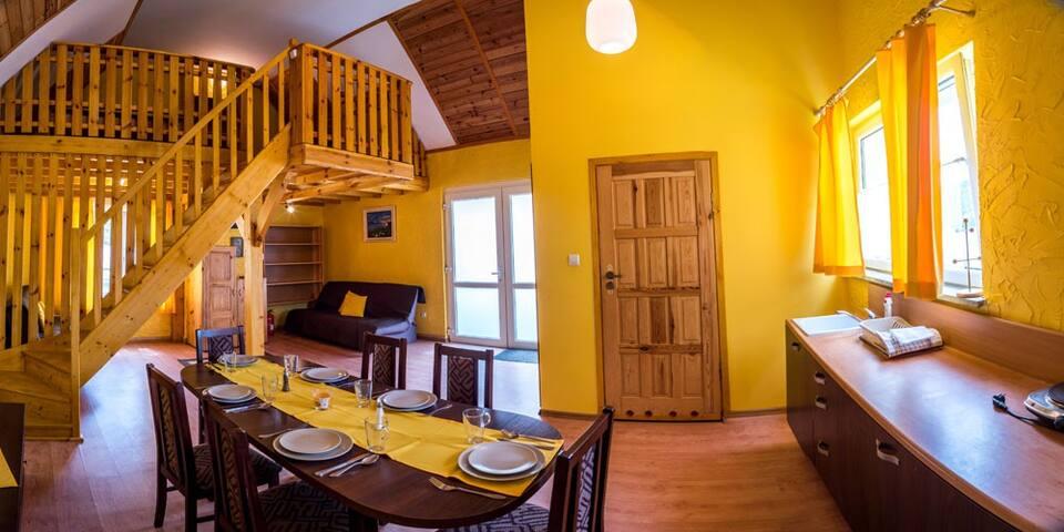Złoty Potok Resort - Domek Palermo przy plaży