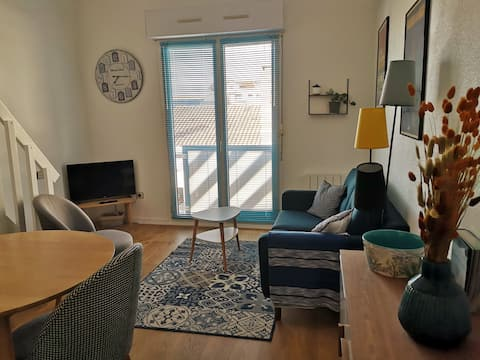 small cosy apartment downtown Arcachon