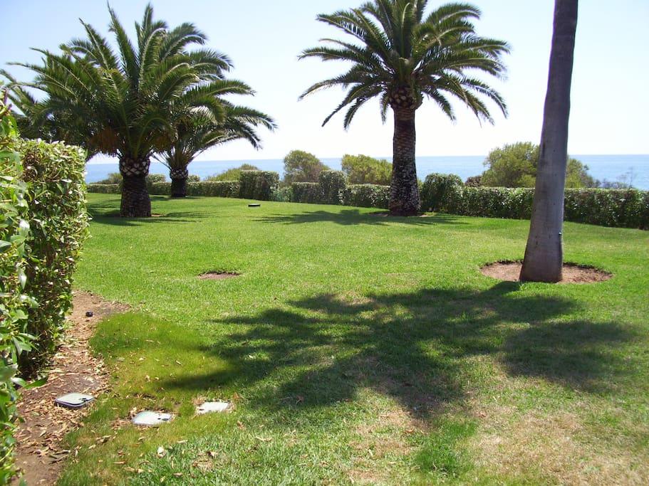la pelouse au bord de la piscine. Vous y ferez connaissance avec les habitués, propriétaires ou locataires.