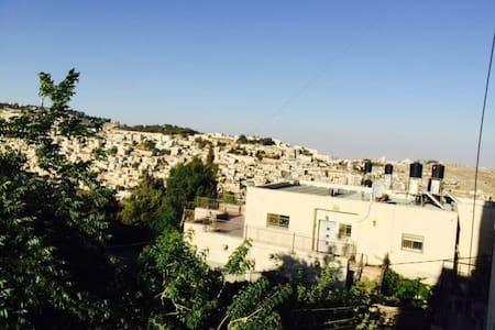 Spacious and sunny flat, awesome view (Room 2) - Jerusalém - Apartamento