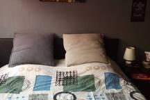 grand lit 2 personnes