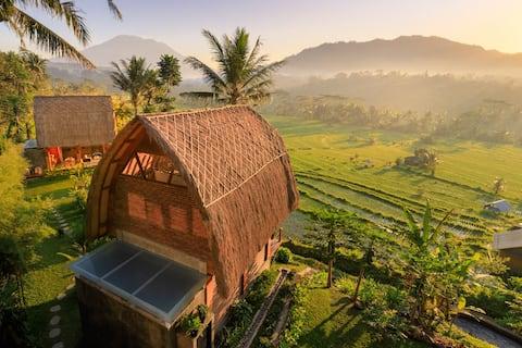 Como vivir en una romántica pintura balinesa