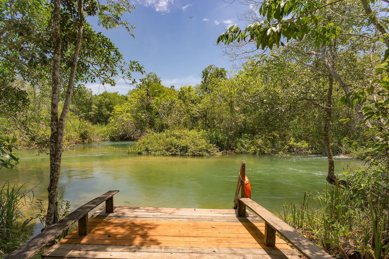 Conforto e tranquilidade no Rio Formoso. / Comfort and tranquility in Formoso river.