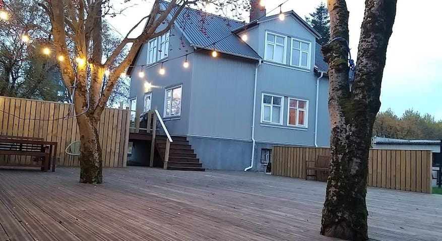 A nice house  in Laugardalur -Reykjavik, Iceland