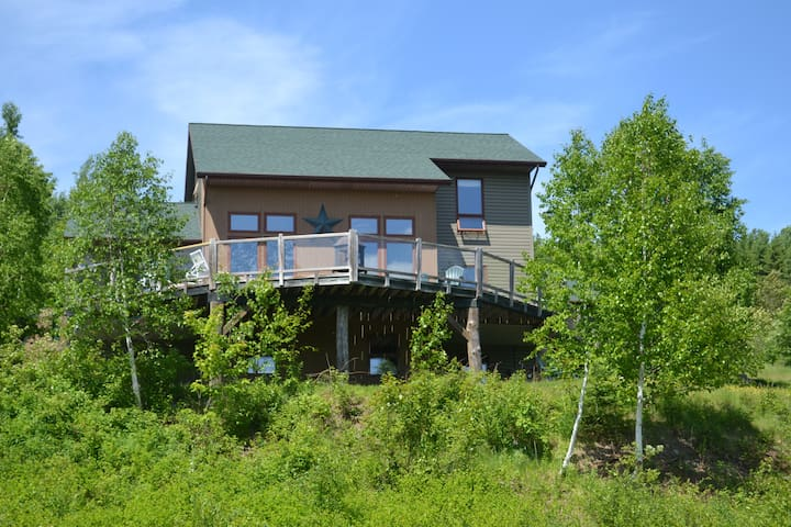 Refuge Ranch Summer Vacation Home - Fort Kent - House