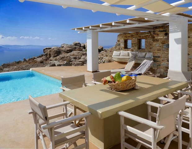 Villa Ariadne - Naxos Grande Vista - Vivlos - Villa