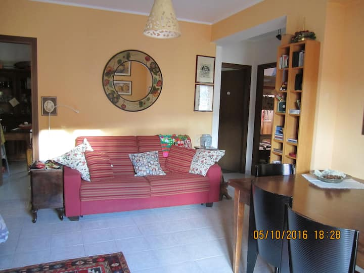 Accogliente e tranquillo appartamento con giardino