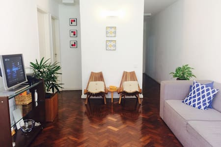 2 Bedrooms near Flamengo beach and the subway