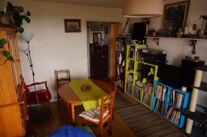appartement chaleureux et calme