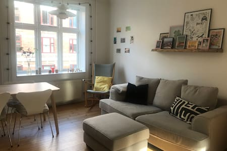 Cozy apartment in the cool area Vesterbro in CPH