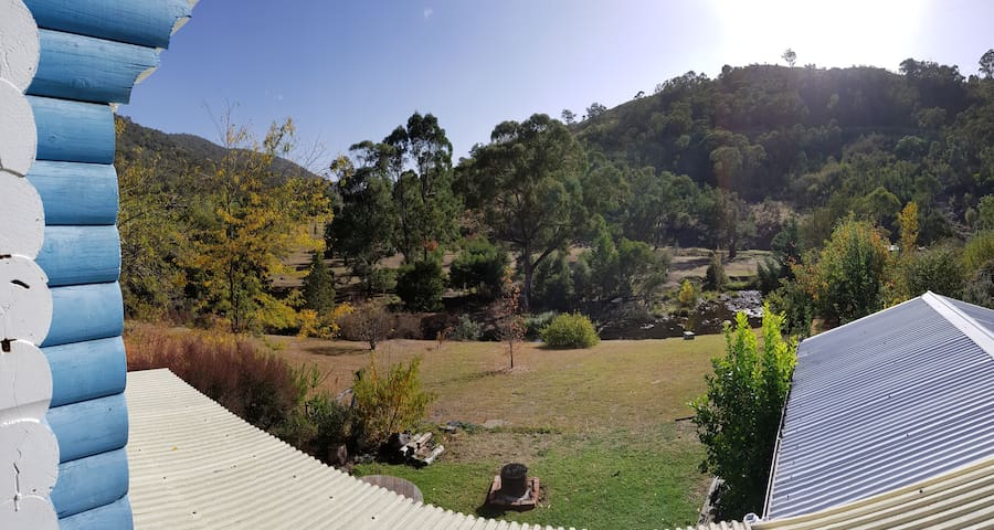 Another view from the verandah...you can hear Micalong from here.