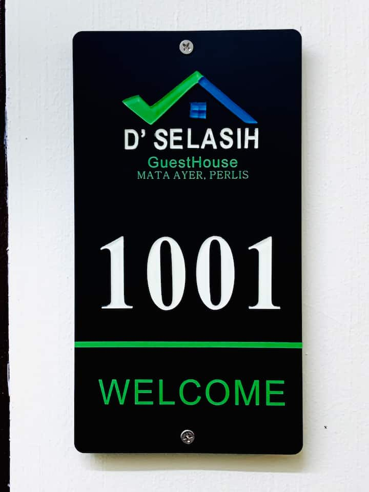 D'Selasih Shortstay, Mata Ayer, Perlis Room 1001