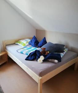 1 Übernachtungszimmer in Walheim für 1-2 Personen