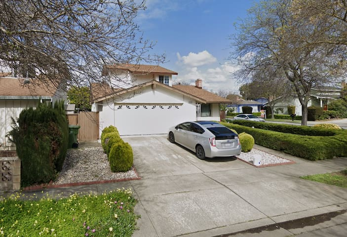 Fremont Private and clean bedroom ,30 mins to SFO