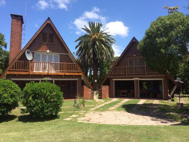 Casa De Campo, 10 huéspedes. A metros del mar