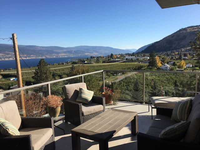 Hidden gem with stunning views of the Okanagan