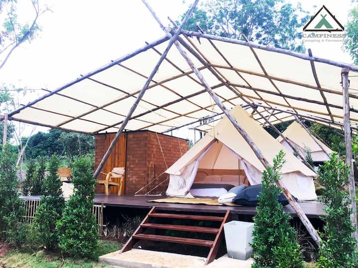 CAMPINESS Camping & Farmsook - GroundCamp Indy