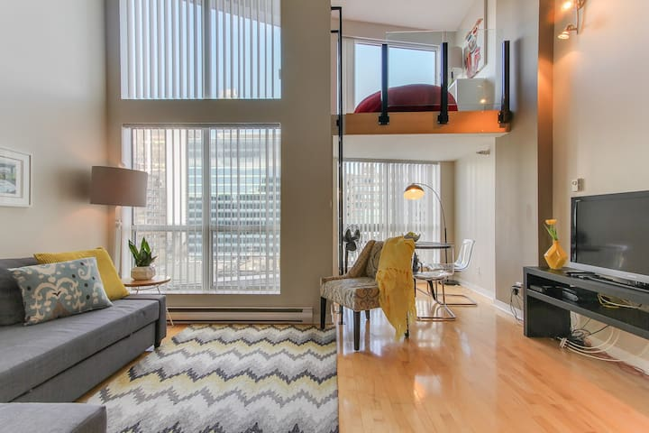 Modern Apartment in DT with Parking - Vancouver - Huoneisto