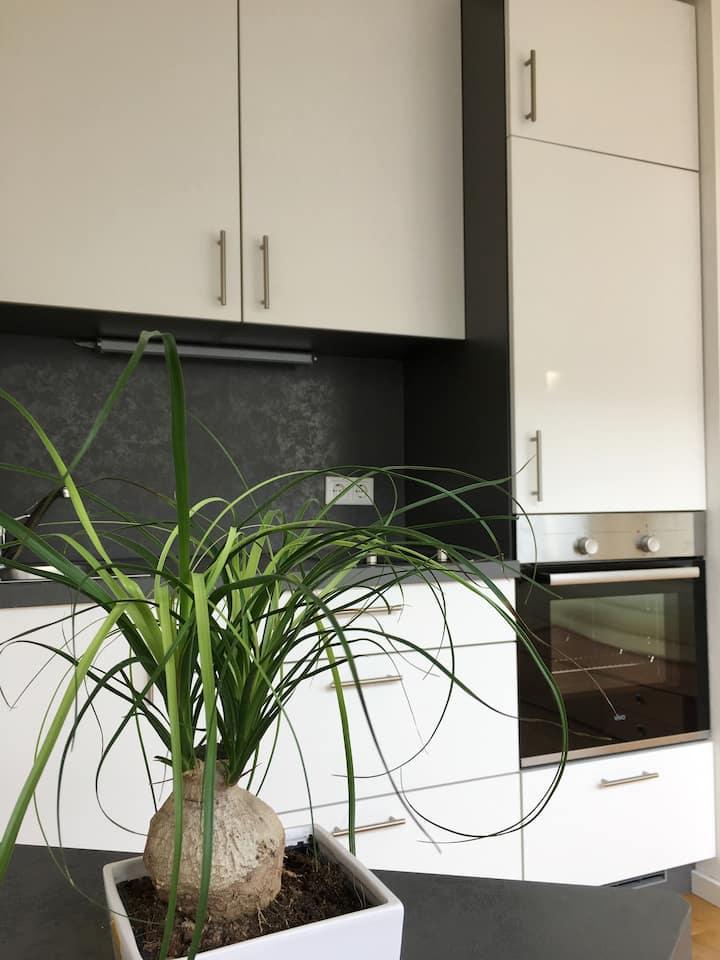 Moderne und neue Wohnung mit Aussicht