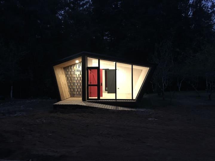 Tiny house en medio de la naturaleza