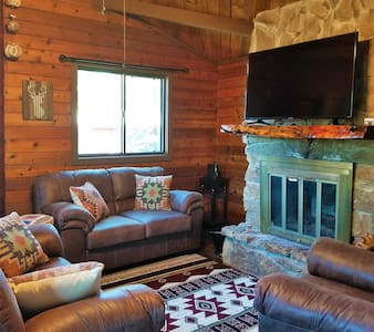 Booked Solid! Try our other Cabin Airbnb #37871909