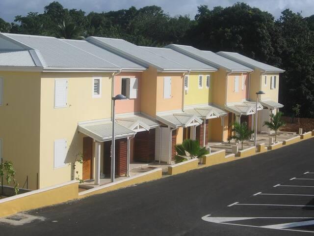 Jolie appartement T2 en duplex avec jardin