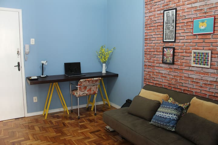 Comfortable room in the iconic Maletta Building - Belo Horizonte - Apartment