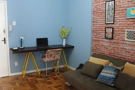 Comfortable room in the iconic Maletta Building - Belo Horizonte - Appartement