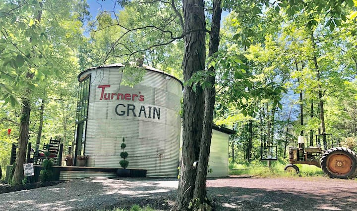 One of only two Silos in Tennessee on AirBnB!!!